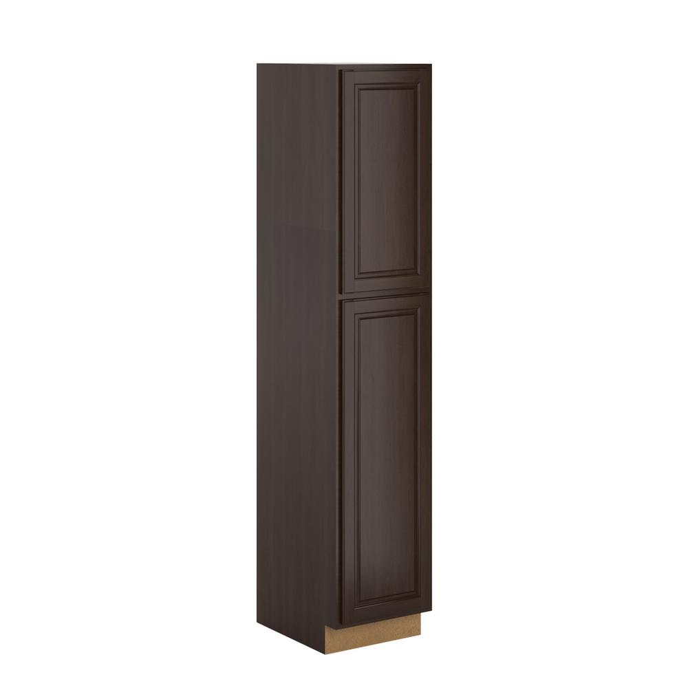 Madison Assembled 18 x 90 x 24 in. Pantry/Utility in Java