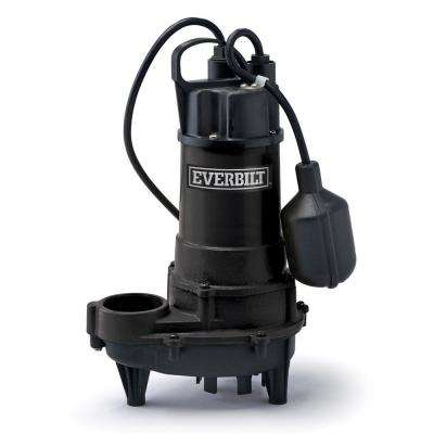 1/2 HP Effluent Pump with Tethered Switch