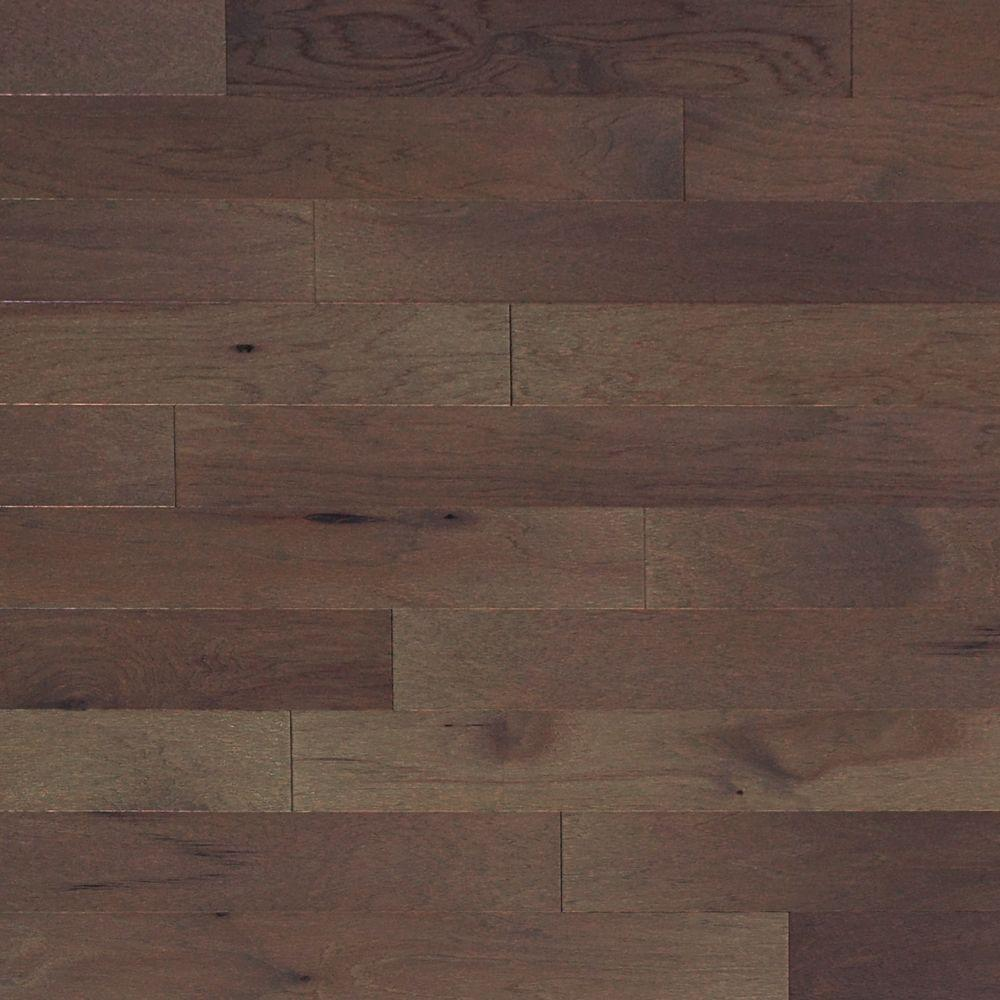 Take Home Sample - Brushed Vintage Hickory Pewter Engineered Click Hardwood