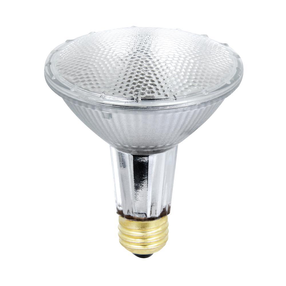 feit electric 35 watt warm white 3000k par30l dimmable energy saver halogen flood light bulb. Black Bedroom Furniture Sets. Home Design Ideas