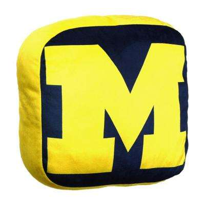 Michigan Multi Color Polyester Cloud Pillow