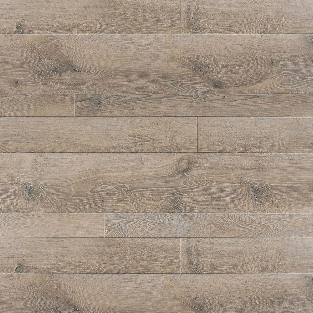 Innovations Multi Width Oak Chateau 8 Mm Thick X 16 In. Wide X 47 In. Length Click Lock Laminate Flooring (20.15 Sq. Ft. / Case), Light