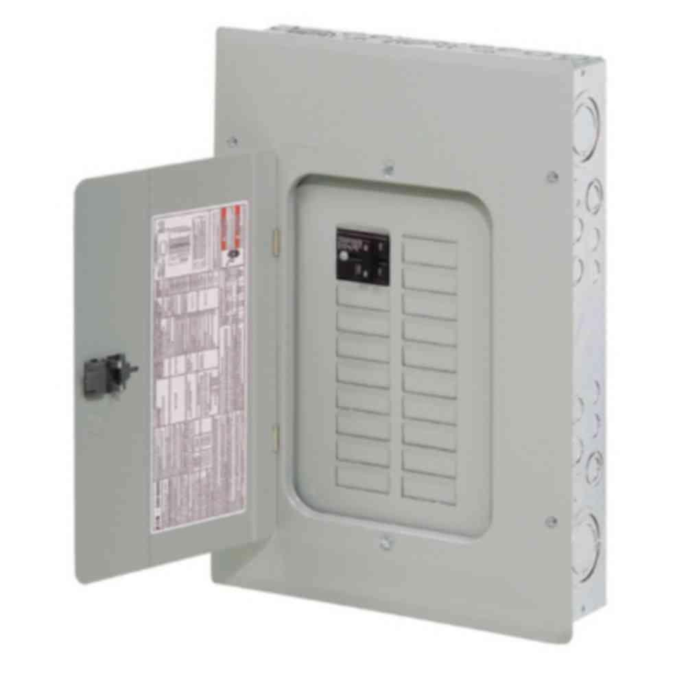 eaton br 100 amp 16 space 24 circuit indoor main breaker loadcenter Cutler Hammer CH Panel eaton br 100 amp 16 space 24 circuit indoor main breaker loadcenter with cover