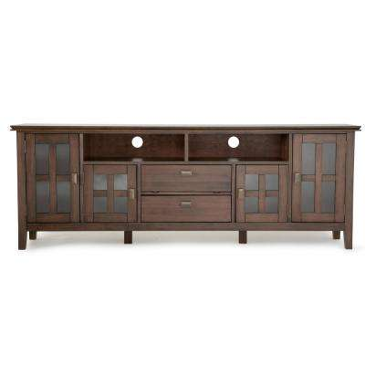 Artisan Natural Aged Brown 72 in. TV Media Stand