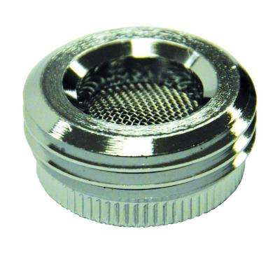 55/64 in. 27F x 3/4 in. GHTM Chrome Garden Hose Adapter