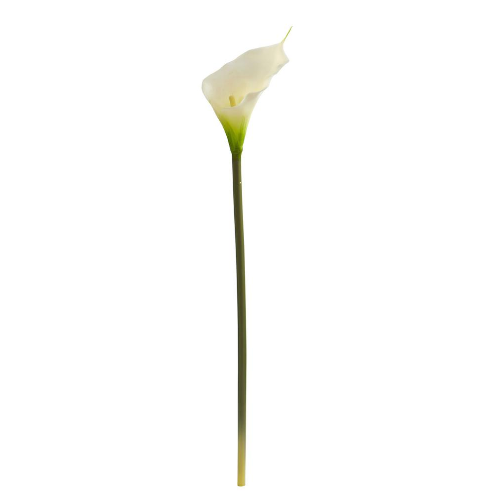 Nearly Natural Indoor 28 In Calla Lily Artificial Flower Set Of 12
