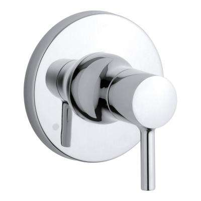 Toobi 1-Handle Transfer Valve Trim Kit in Polished Chrome (Valve Not Included)