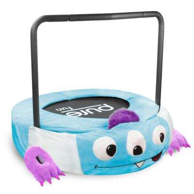 Monster Jumper Kids 38 in. Mini Trampoline