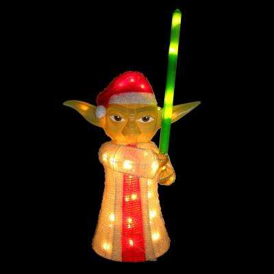 Star Wars Yoda Yard Decor