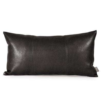 Sultry Black Kidney Pillow
