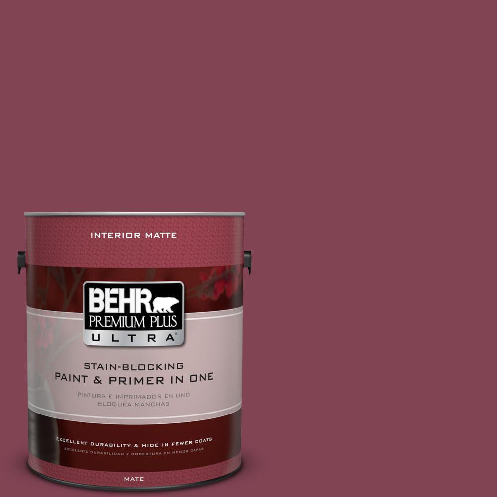 BEHR Premium Plus Ultra 1 gal. #110D-6 Haunting Melody Flat/Matte Interior Paint