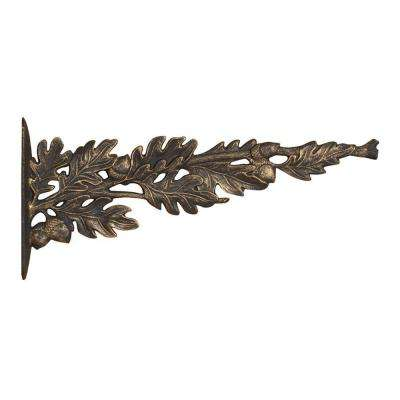 Oil Rubbed Bronze Oakleaf Nature Hook