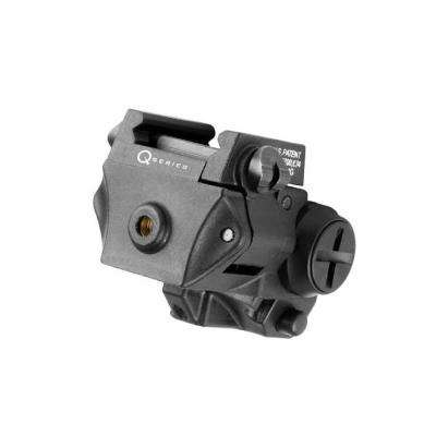 Q-Series Adjustable 5mW 635nm Red Laser for Rail-Equipped Compact and Subcompact Pistols
