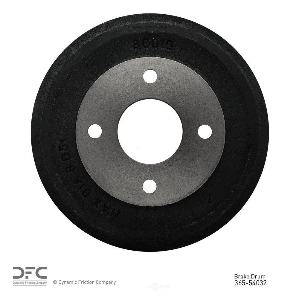 dynamic friction company true balanced brake drum 1995 1996 ford contour 365 54032 the home depot the home depot