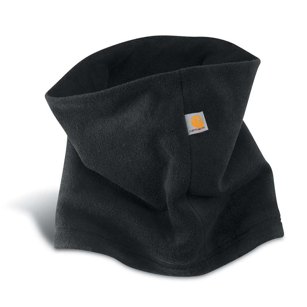Carhartt Men's OFA Black Polyester/Spandex Neck Gaiter Headwear-A204-BLK -  The Home Depot