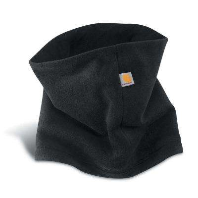 Men's OFA Black Polyester/Spandex Neck Gaiter Headwear