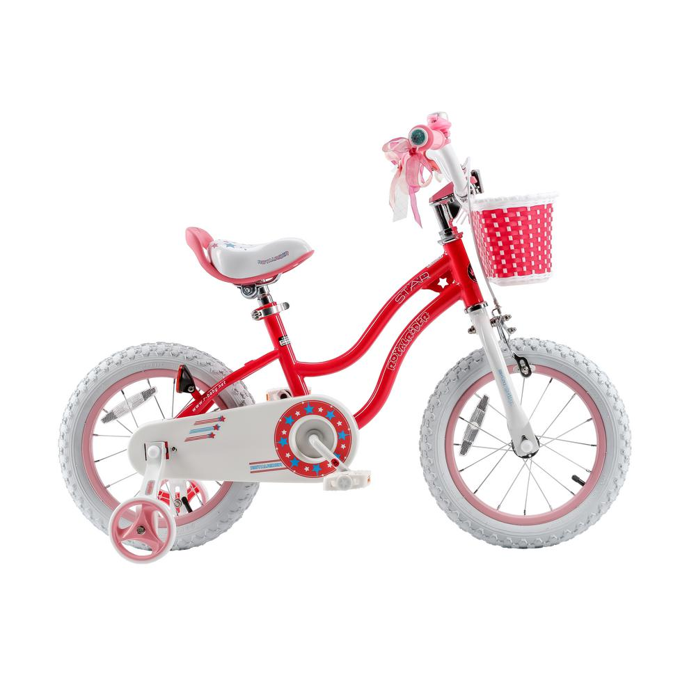 Royalbaby Stargirl Bike Training Wheels Basket 12 Inch