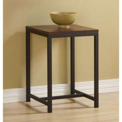 Foster Brown and Black End Table