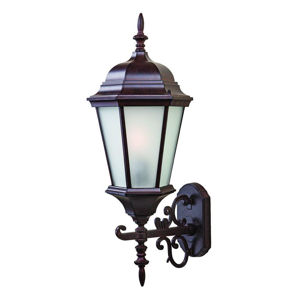 Acclaim Lighting Richmond Collection 1-Light Burled Walnut