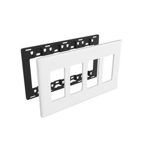 Noon 4-switch Wall Plate by Noon