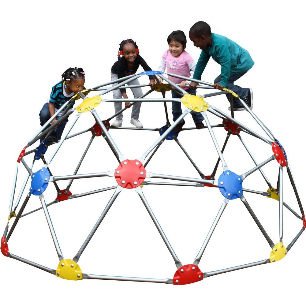Ultra Play UPlay Today Commercial Geo Dome Climber with Multi Color Powder Coated Connectors
