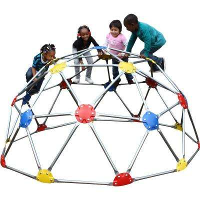 UPlay Today Commercial Geo Dome Climber with Multi Color Powder Coated Connectors