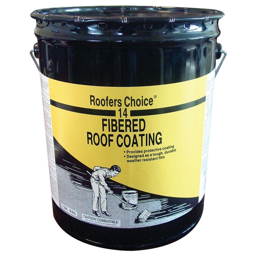 4.75 Gal. Fibered Roof Coating
