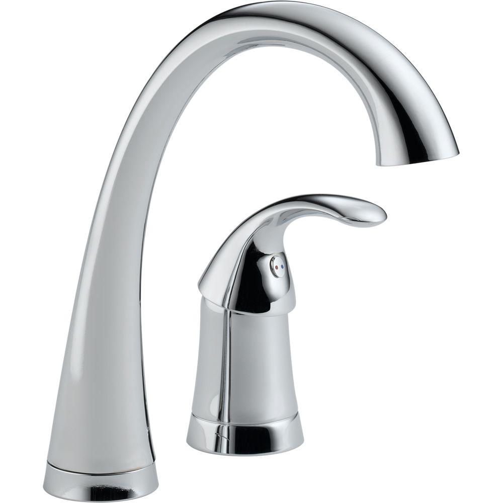 Delta Pilar Single-Handle Bar Faucet in Chrome