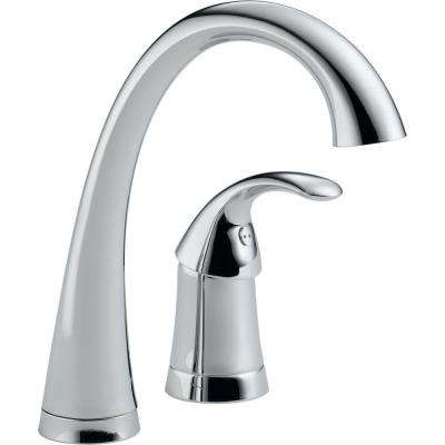 Pilar Waterfall Single-Handle Bar Faucet in Chrome