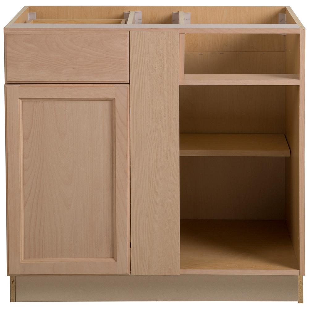 Frameless Kitchen Cabinets: Easthaven Assembled 36x24.5x34.5 In. Frameless Blind Base