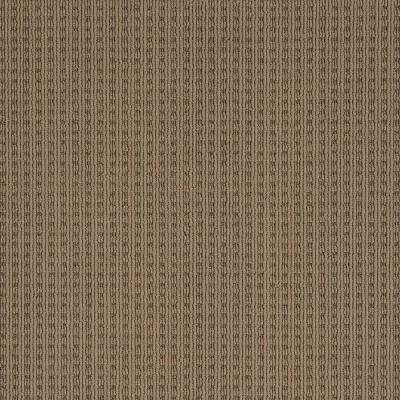 Carpet Sample - Breckenridge - Color Mocha Loop 8 in. x 8 in.