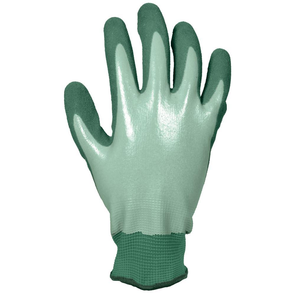 Women's Medium Water Resistant Sandy Nitrile Dip Glove (2-Pair)