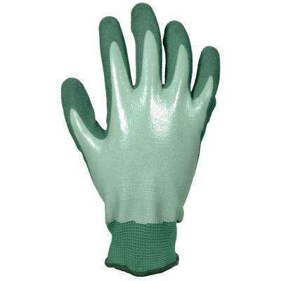 Women's Medium Water Resistant Sandy Nitrile Dip Glove (2-Pair)