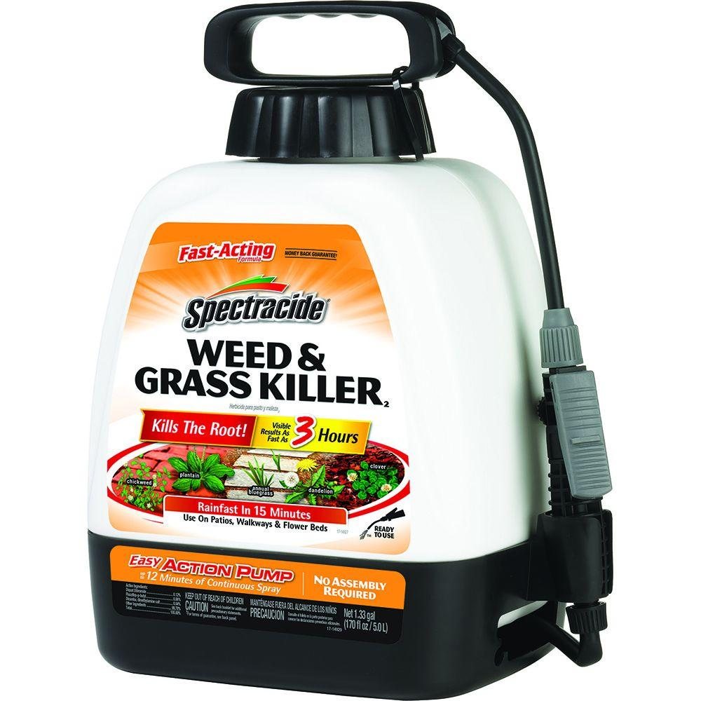 Spectracide Weed and Grass Killer 1.33 gal. Ready-to-Use Pump