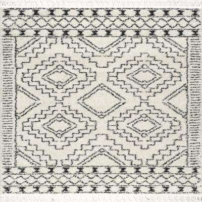Square - Moroccan - Off-White - Area Rugs - Rugs - The Home