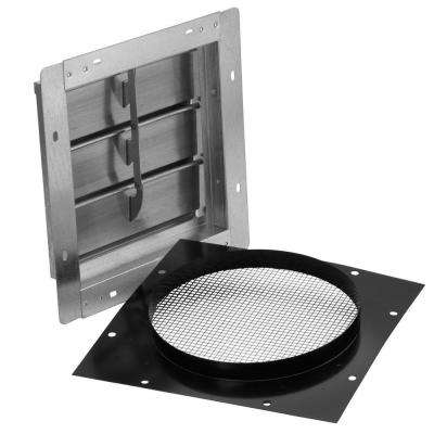 High-Capacity Wall Cap for 10 in. Round Ducts