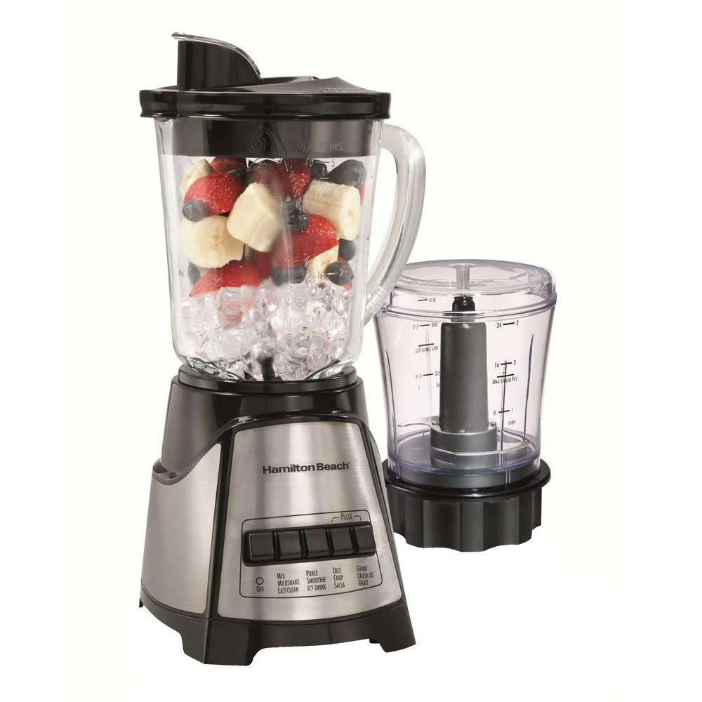 Hamilton Beach Blender and Food Chopper in Black