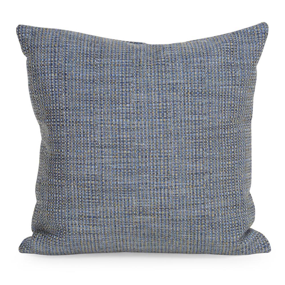 Coco Blue Sapphire 20 in. x 20 in. Decorative Pillow