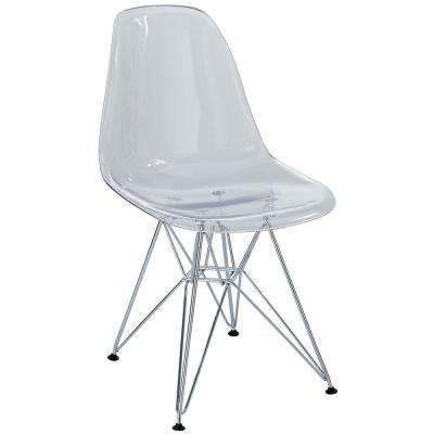 Paris Clear Dining Side Chair
