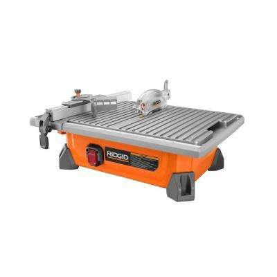 7 in. Job Site Wet Tile Saw