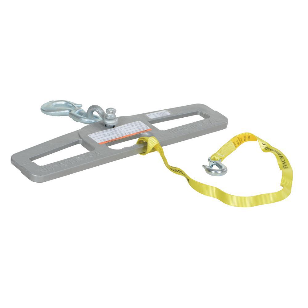 Vestil 6,000 Lb. Capacity Swivel Lift Master Hook Plate-LM