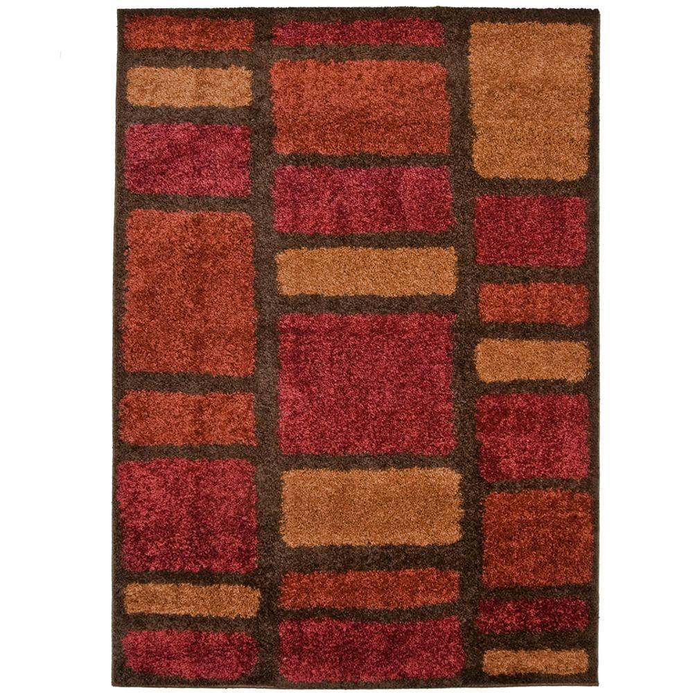 null Moodie Blues Rouge 5 ft. 3 in. x 7 ft. 6 in. Area Rug