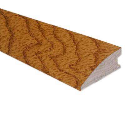 Oak Spice 3/4 in. Thick x 1-3/4 in. Wide x 78 in. Length Hardwood Flush-Mount Reducer Molding