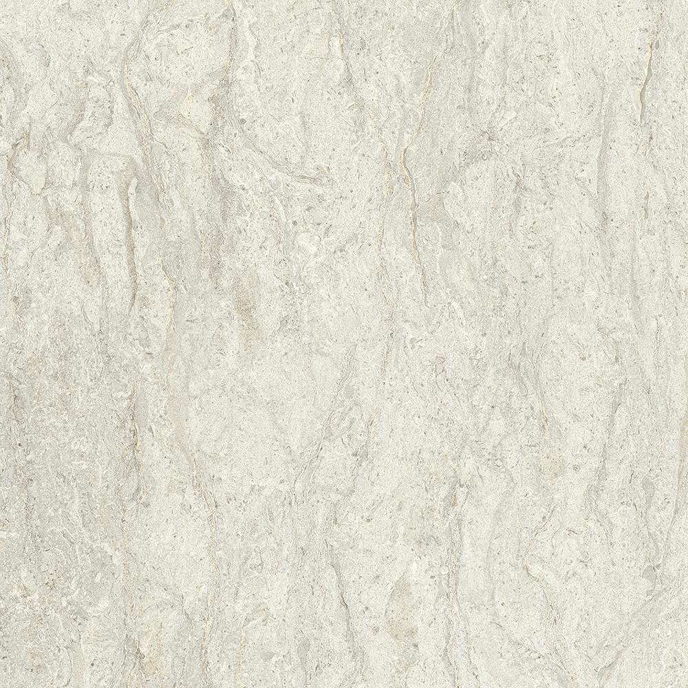 2 in. x 3 in. Laminate Countertop Sample in White Cascade with Standard Fine Velvet Texture