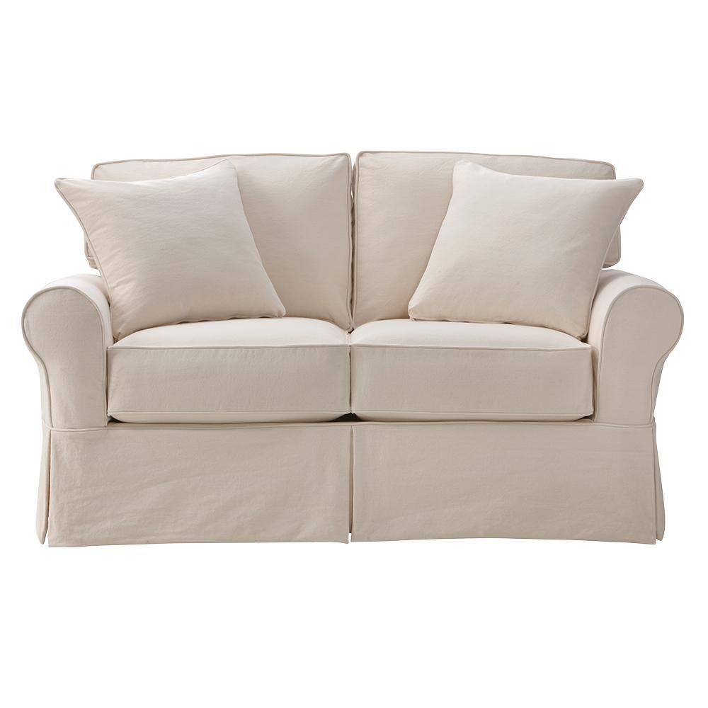 Home decorators collection mayfair classic natural for Classic loveseat
