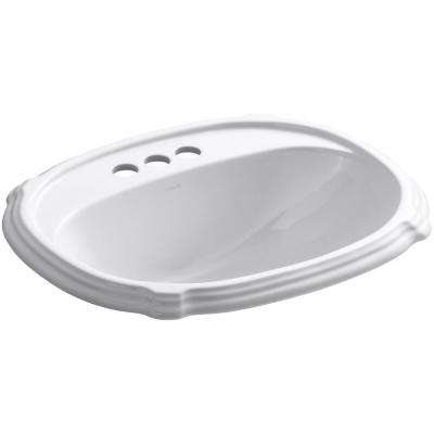 Dropin Bathroom Sinks Bathroom Sinks The Home Depot - Oval bathroom sinks drop in