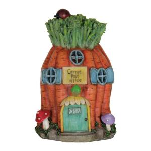 Exhart Solar 10 inch Carrot House by Exhart