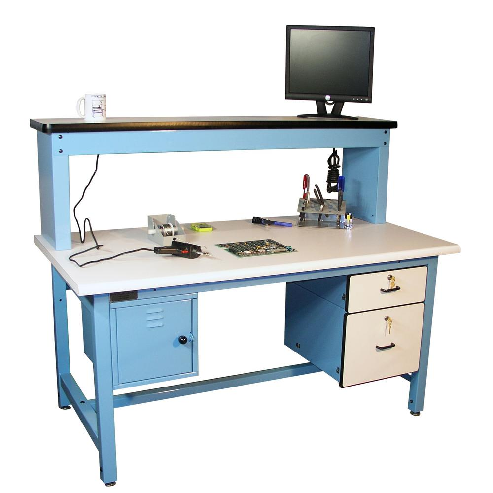 Outstanding Proline 72 In X 30 In Technical Work Bench With Esd Laminate Surface Bench In A Box Bralicious Painted Fabric Chair Ideas Braliciousco