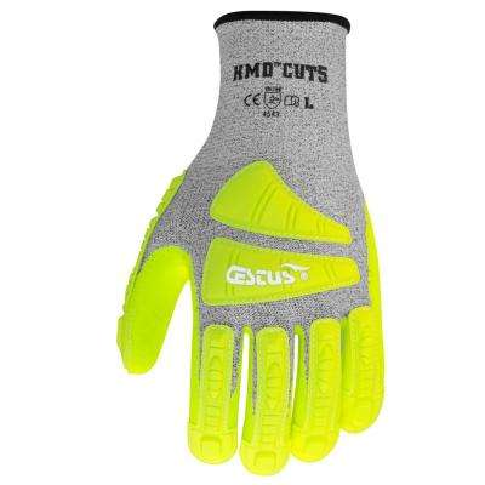 XL Hi-Vis HMD Cut5 Gloves