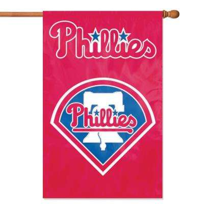 Philadelphia Phillies Applique Banner Flag